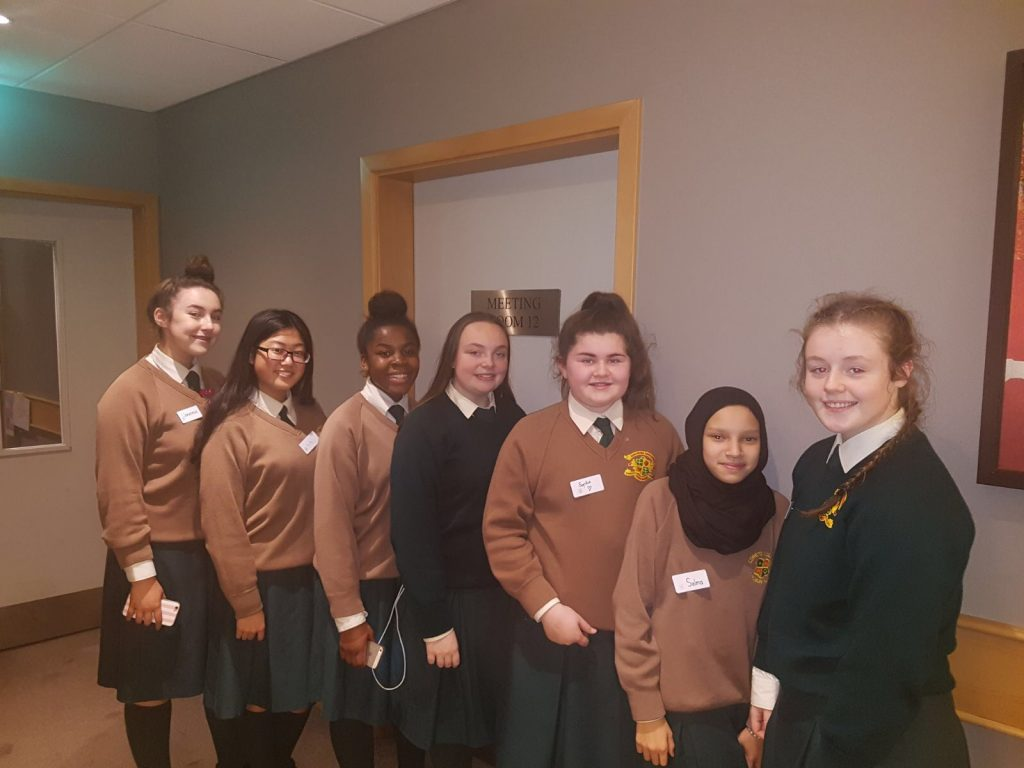 Image of the student council members.
