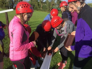 Teamwork at play in Carlingford Adventure Centre