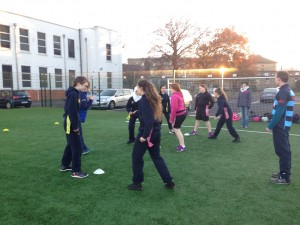 Tag Rugby on our all weather Astro-turf