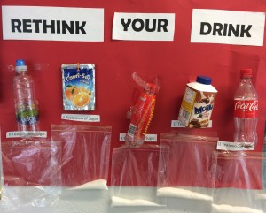 Rethink your drink display: How much sugar are you drinking?