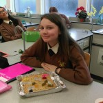 Saoirse O'Reilly (1 Mozart) and her Cookie Dough cell
