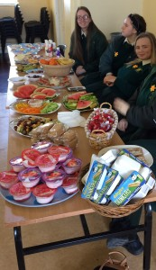Healthy treats for Friday's lunch.