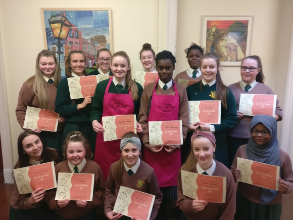 Students who participated in the Great Loreto Bake Off 2018
