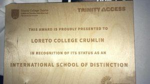Image of the CFES award.