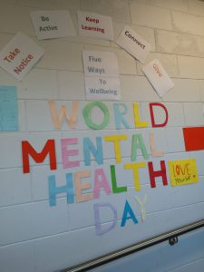 Colourful World Mental health Day Banner