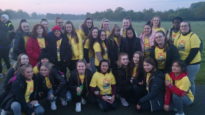 Loreto Crumlin students at Darkness Into Light 2019