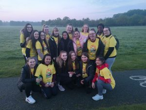 4th Year Group at Darkness Into Light