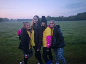 6th Year Group at Darkness Into Light