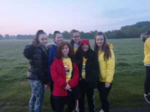 5th Year Group at Darkness Into Light