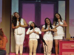 Delta Nus (Mia Martin, Lizi Trapaidze, Alex Cortez and Vanessa O'Connor)