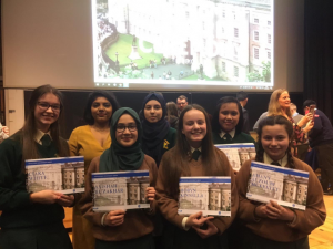 Trinity Access Award Winners 2019 with Dove Curpen