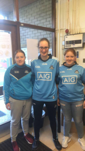 Ms. Murphy with Shannon and Kelsey Redmond on Lá Gorm.
