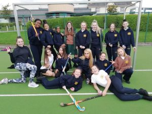 1 Nightingale Inter-Loreto Hockey players.