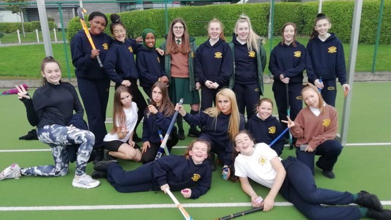 1 Nightingale Inter-Loreto Hockey players.