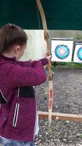 Trying Archery in Carlingford