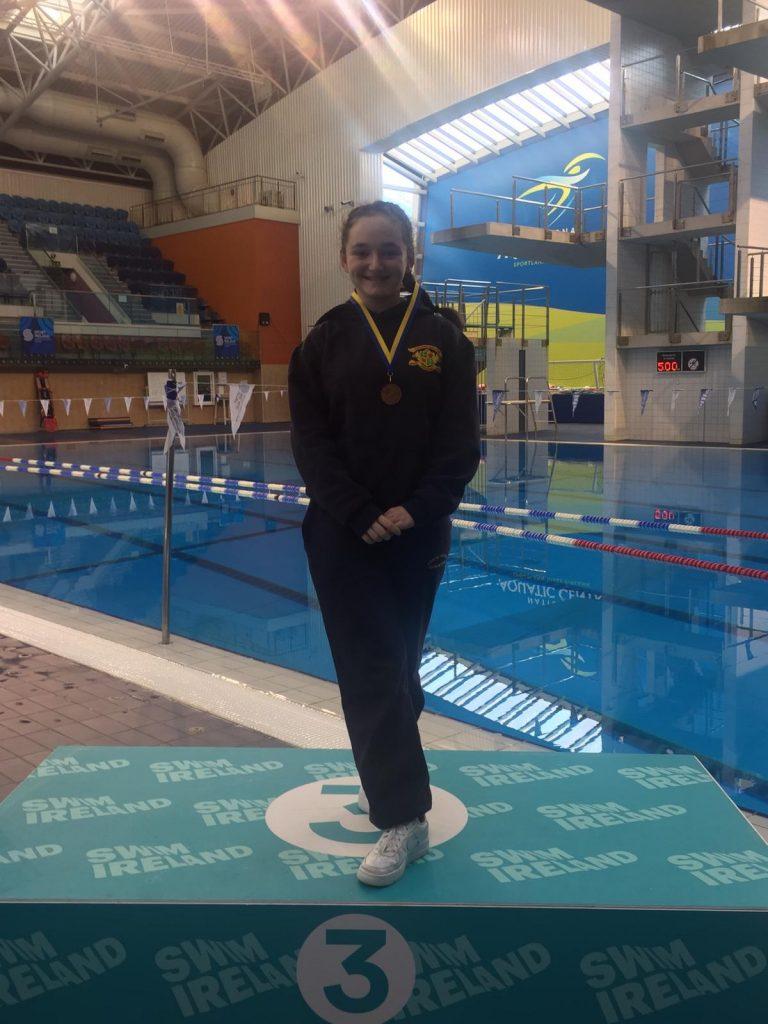 Bronze medalist Faith Hurley