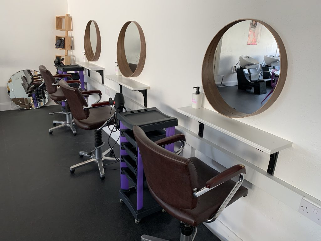 The new LCA Beauty Salon