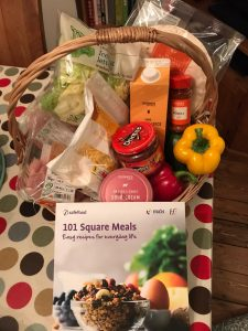 Cookery Prize basket