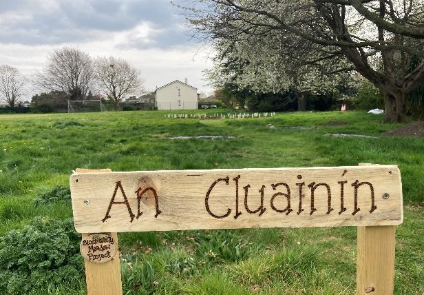 An Cluainín sign