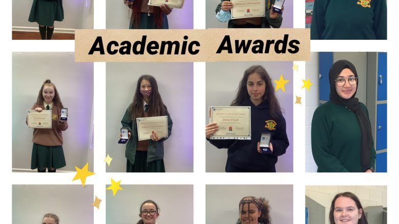 Trinity Access academic award winners 2021