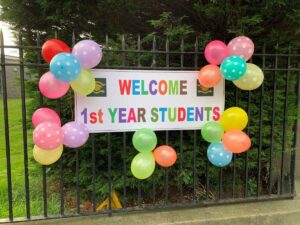 A welcome put together by our senior prefects for the new first year students.